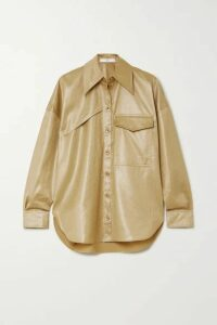 Tibi - Shell Shirt - Beige