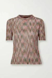 Missoni - Crochet-knit Cotton-blend Top - Pink