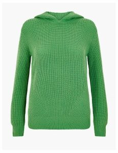 M&S Collection Textured Hoodie
