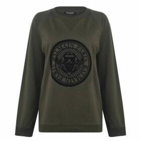 Balmain Medallion Coin Logo Sweatshirt