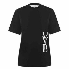 Victoria by Victoria Beckham Logo T Shirt