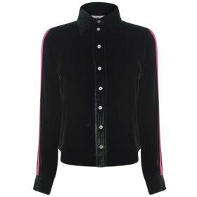 Serena Bute Velvet Shirt