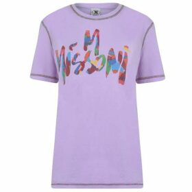 M Missoni Logo T Shirt