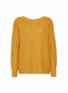 Womens **Vero Moda Gold Jumper, Gold