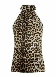 Womens *Vesper Multi Colour Cheetah Print Top- Leopard, Leopard