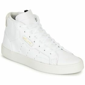 adidas  adidas SLEEK MID W  women's Shoes (Trainers) in White