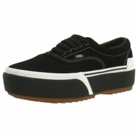 Vans  ERA STACKED  women's Shoes (Trainers) in Black