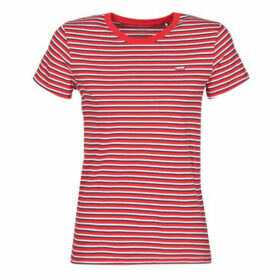 Levis  PERFECT TEE KORONIS  women's T shirt in Red
