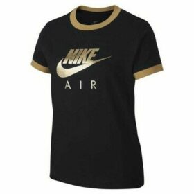 Nike  Air  women's T shirt in Black