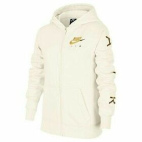 Nike  Air Flc  women's Sweatshirt in White