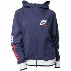 Nike  Wmns Hoodie Full Zip Archive  women's Sweatshirt in multicolour