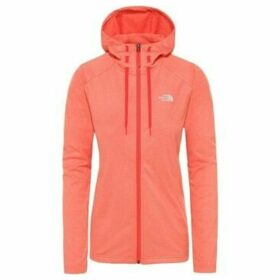 The North Face  Tech Mezzaluna  women's Sweatshirt in Orange
