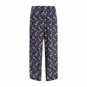 Weekend MaxMara Egeo Silk Trousers, Multi
