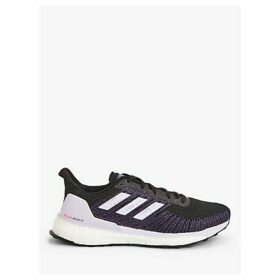 adidas Solar Boost 19 ST Women's Running Shoes, Core Black/Purple Tint/Solar Red