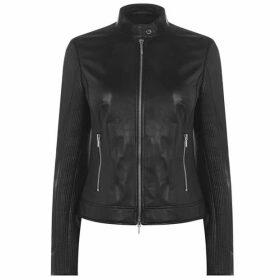 Hugo Lesia Leather Jacket