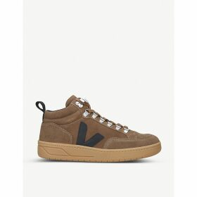 Roraima suede mid-top trainers