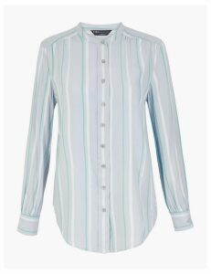 M&S Collection Striped Longline Shirt