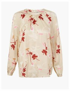 M&S Collection Printed Blouse