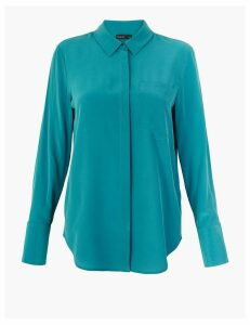 Autograph Pure Silk Long Sleeve Shirt