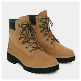 Timberland Carnaby Cool 6 Inch Boot For Women In Beige Nubuck Beige Nubuck, Size 7.5