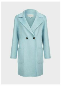 Aly Coat Pale Blue