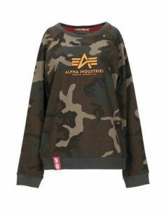 ALPHA INDUSTRIES TOPWEAR Sweatshirts Women on YOOX.COM