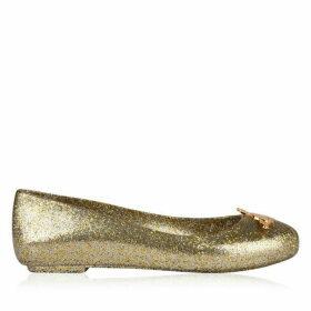 Vivienne Westwood X Melissa Space Love Pumps - Gold Glitter