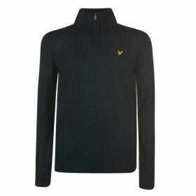 Lyle and Scott quarter Zip Pullover Mens - Navy