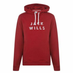 Jack Wills Batsford OTH Hoodie - Red