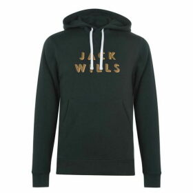 Jack Wills Batsford OTH Hoodie - Dark Green
