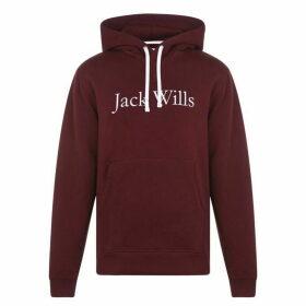Jack Wills Batsford Heritage Hoodie - Damson