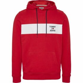 Tommy Jeans Essential Graphic OTH Hoodie - Deep Crimson