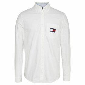 Tommy Jeans Oxford Bridge Shirt - White