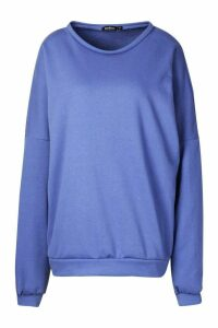 Womens Premium Oversized jumper - Green - L, Green