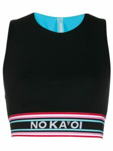 No Ka' Oi logo cropped top - Black