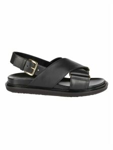 Marni Cross-over Strap Sandal