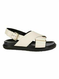 Marni Cross-over Strap Sandal