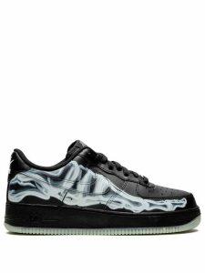 Nike Air Force 1 Skeleton low-top sneakers - Black