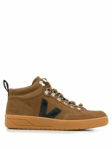 Veja high-top trainers - Brown