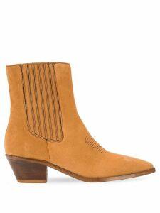 Zadig & Voltaire 55mm Tyler elastic boots - Brown