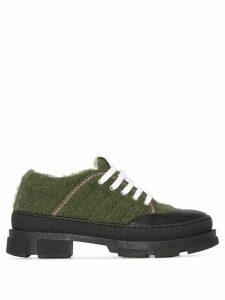 GANNI chunky low-top sneakers - Green