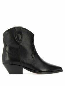 Isabel Marant Dewina cowboy style boots - Black