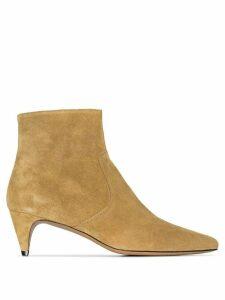 Isabel Marant Derst 50mm ankle boots - Brown
