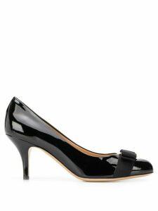 Salvatore Ferragamo Carla patent pumps - Black