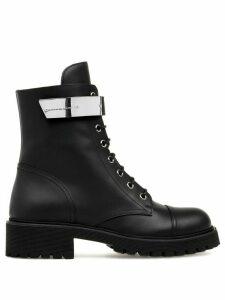Giuseppe Zanotti Alexa cargo boots - Black