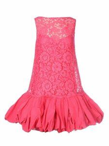 Valentino Frill Lace Dress