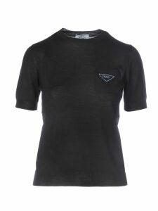 Prada Logo Short Sleeves