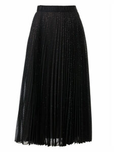 Marco de Vincenzo Pleated Long Skirt