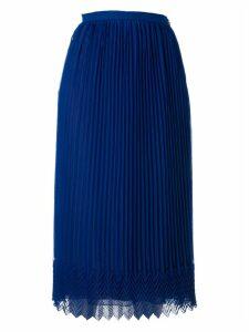 Marco de Vincenzo Pleated Long Skirt