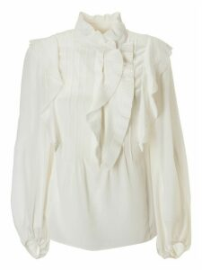 Chloé Ruffled Long-sleeve Blouse